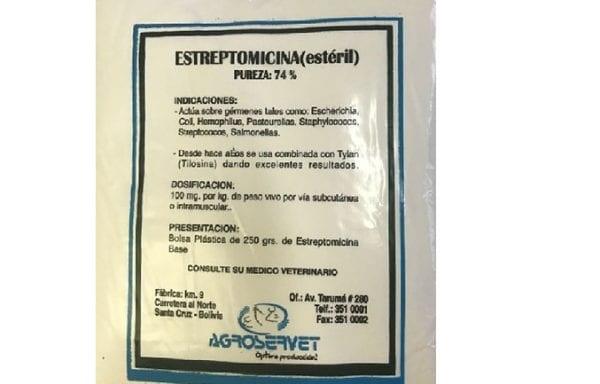 ESTREPTOCIMINA AG.